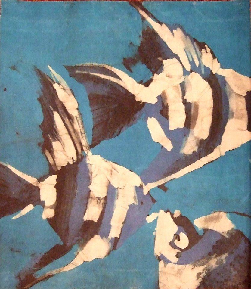 Batik – malowanie na tkaninach